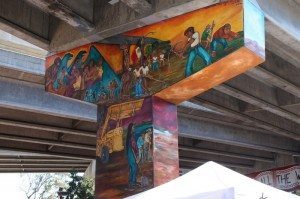Chicano Park Takeover mural.
