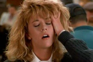 "Meg Ryan in ""When Harry Met Sally."""