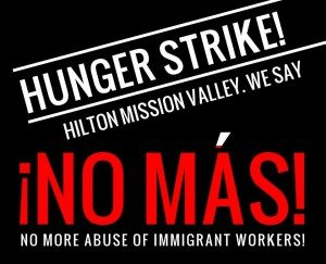 graphic for hunger strike