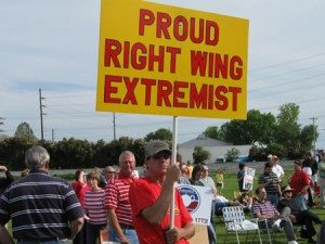 proud right wing extremist