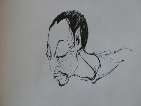 Mario Torero's art in Space Flutes & Barrio Paths.