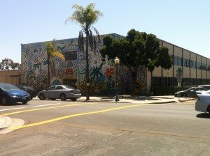 Einstein Elementary School with Mural
