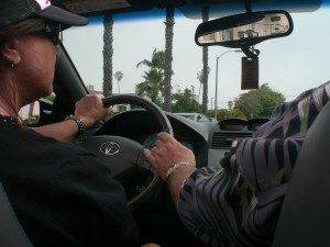 It takes two to drive