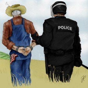 gmo arrest