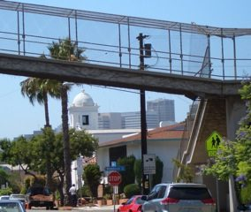 Guadalupe Church & Pedestrian Bridge