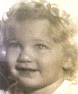 A very young Judi. She's still  very young at heart.