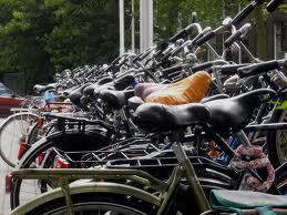 bikes parked