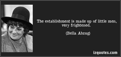 establishment bella abzug quote