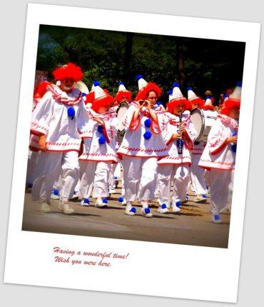 Circus parade 1