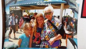 Judi and Kids at Sea World