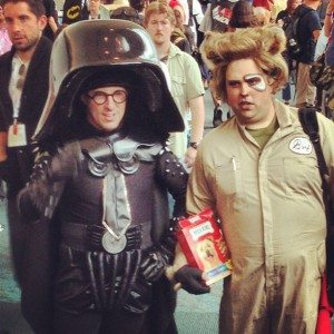 SDCC Rick Moranis & Jogn Candy Wannabes