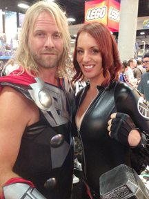 Thor & Black Widow