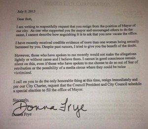 frye letter