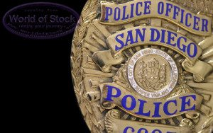 Police badge sd