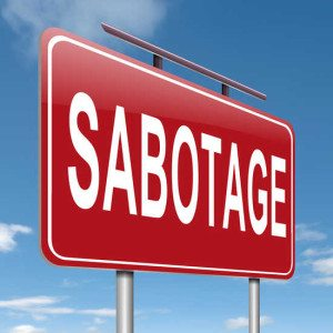 http://www.dreamstime.com/royalty-free-stock-photography-illustration-depicting-sign-sabotage-concept-image29814047