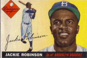 1955 topps 50 - jackie robinson