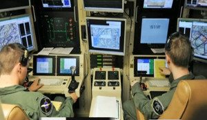 Drone controllers. USAF Photo