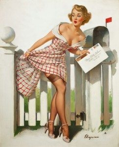 a pinup girl
