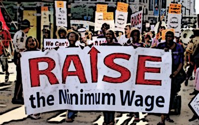 For working class people to survive in 21st century America the minimum wage must be increased to keep up with the cost of living.