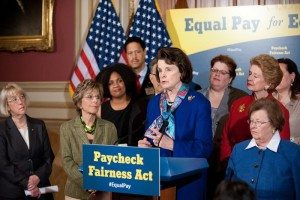 Paycheck Fairness Feinstein