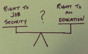 Teacher Job Security