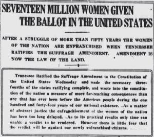 1920s-Womens-Suffrage-Newspaper-Headline2