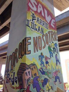 Chicano Park mural by Mario Torero.