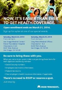 health care enrollment san diego