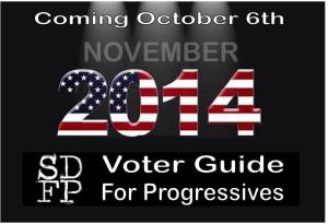 SDFP 2014 voter guide logo