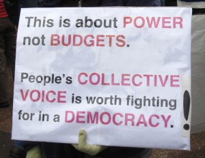 Power not budgets