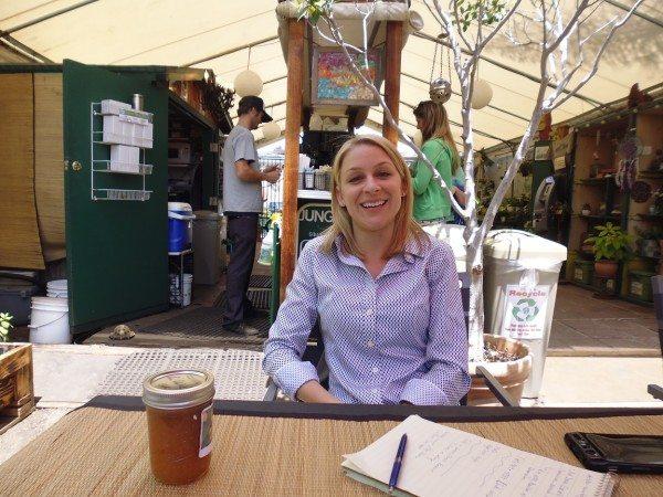 Sara at Jungle Java