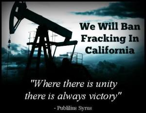 ban fracking Bacher