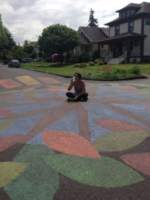 Painted Intersection