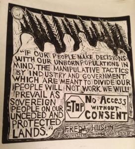 stop pipelines Annie Morgan