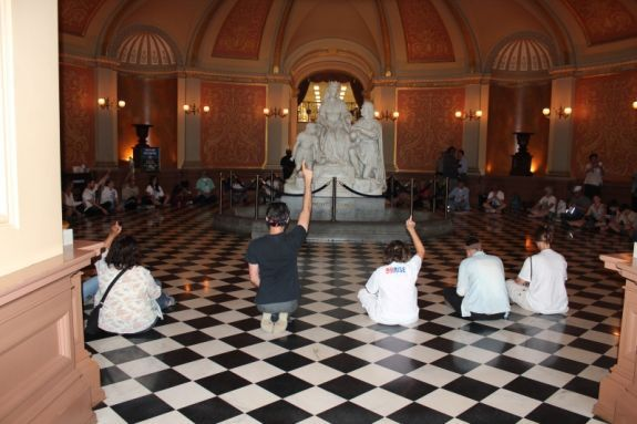 99Rise sit in at the State Capitol on July 2, 2014
