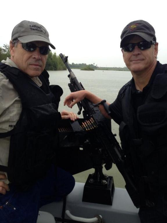 Texas Gov. Rick Perry & Fox host Sean Hannity