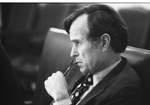CIA_Director_George_H.W._Bush_listens_at_a_meeting_following_the_assassinations_in_Beirut,_1976_-_NARA_-_7064954[1]