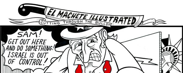 El Machete Illustrated: Dirty Hands