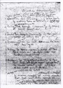 Leonard Fierro notes