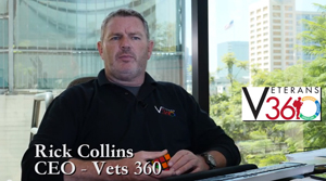 Vets 360 CEO Rick Collins.