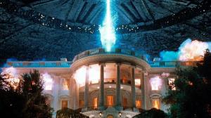 white house space ship