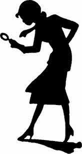 Nancy Drew silhouette