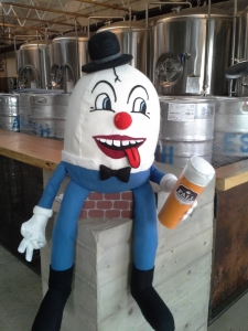 Fall Brewing Humpty Dumpty  mascot