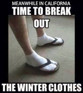Calif Winter Clothes