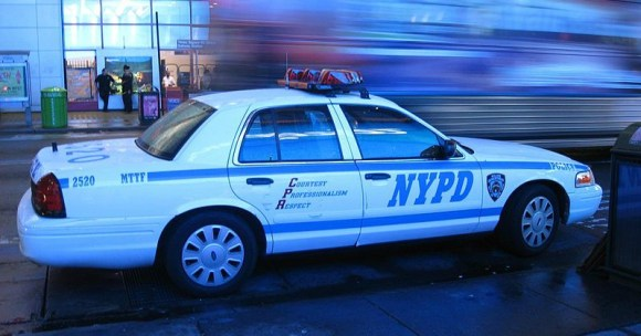NYPD patrol car