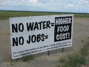 no water no jobs
