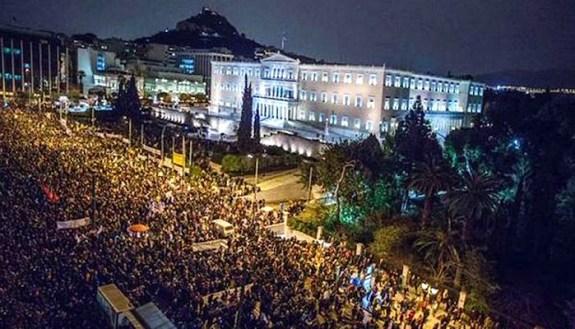Greeks-Demonstrate