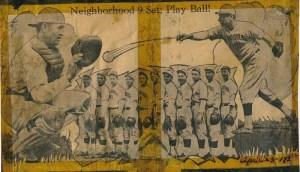 Neighborhood House baseball team, 1932