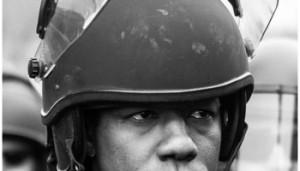 cop helmet