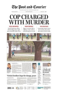 post courier front page